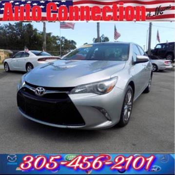 2016 Toyota Camry for sale at 1000 Cars Plus Boats - Lot 9 in Miami FL