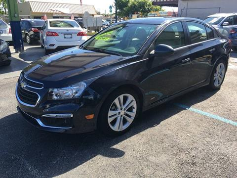 2015 Chevrolet Cruze for sale at 1000 Cars Plus Boats - Lot 6 in Miami FL