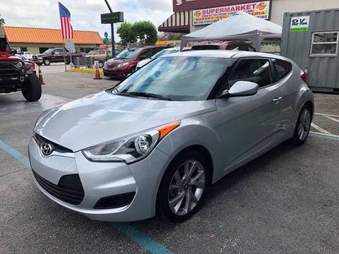 2016 Hyundai Veloster for sale at 1000 Cars Plus Boats - Lot 6 in Miami FL