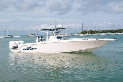 1998 Pro-Line 35 Super Sport  CC for sale at 1000 Cars Plus Boats - LOT 5 in Miami FL