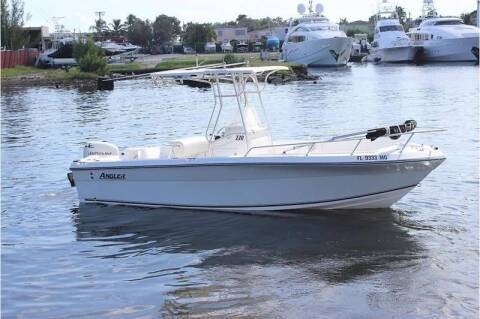 2003 Angler 220 CC for sale at 1000 Cars Plus Boats - LOT 5 in Miami FL