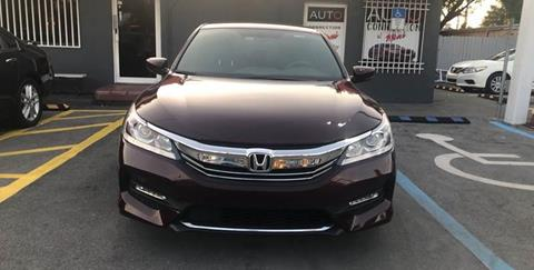 2016 Honda Accord for sale at 1000 Cars Plus Boats - Lot 9 in Miami FL