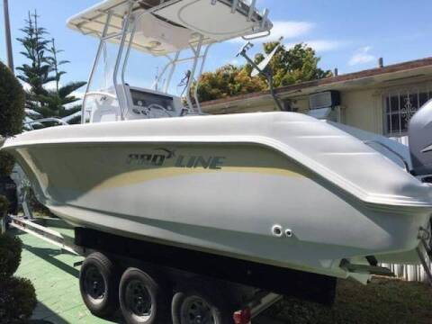 2005 Pro-Line 25 Ft. CC Open Fisherman for sale at 1000 Cars Plus Boats - LOT 5 in Miami FL