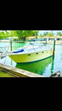 1988 Aquasport 29 Ft. Cabin WA Wide Beam for sale at 1000 Cars Plus Boats - LOT 5 in Miami FL
