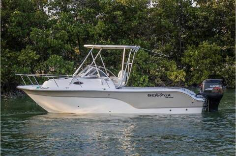 2008 Sea Fox 23 Foot Walkaround for sale at 1000 Cars Plus Boats - LOT 5 in Miami FL