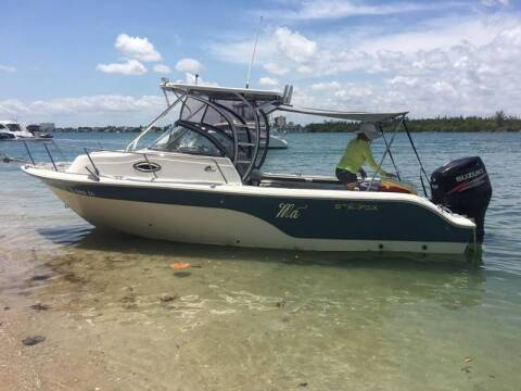 2011 Sea Fox 23 ft. Walkaround Cabin for sale at 1000 Cars Plus Boats - LOT 5 in Miami FL