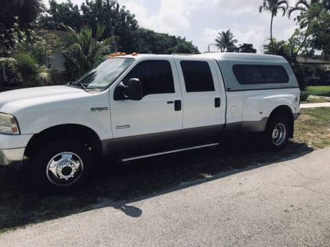 2007 Ford F-350 Super Duty for sale at 1000 Cars Plus Boats - LOT 5 in Miami FL