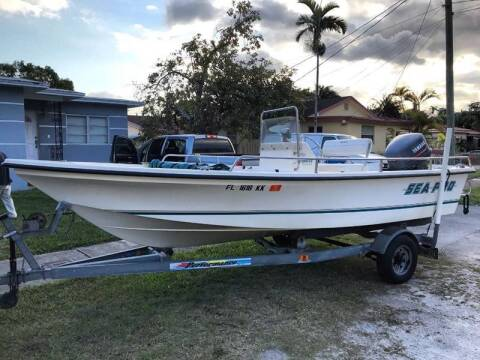 1997 Sea Pro 19 ft. CC Open Fisherman for sale at 1000 Cars Plus Boats - LOT 5 in Miami FL