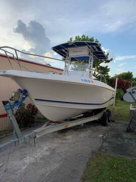 2004 Pro-Line 22 Ft. Open Fisherman for sale at 1000 Cars Plus Boats - LOT 5 in Miami FL