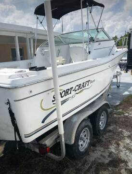 2000 Sportcraft 24 foot Walkaround for sale at 1000 Cars Plus Boats - LOT 5 in Miami FL