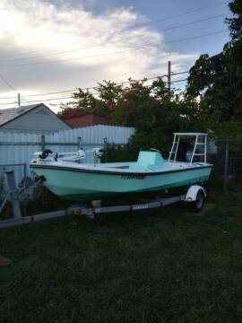 2005 MDZ Maryland 18 ft. Open Fisherman for sale at 1000 Cars Plus Boats - LOT 5 in Miami FL