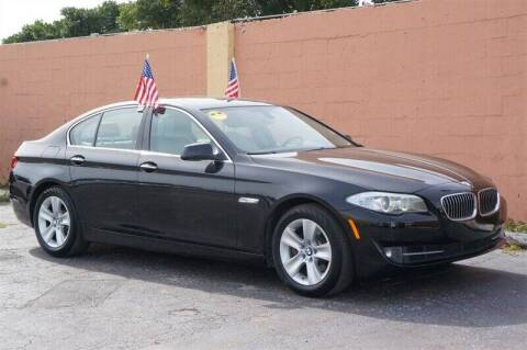 2013 BMW 5 Series for sale at 1000 Cars Plus Boats - Lot 7 in Miami FL