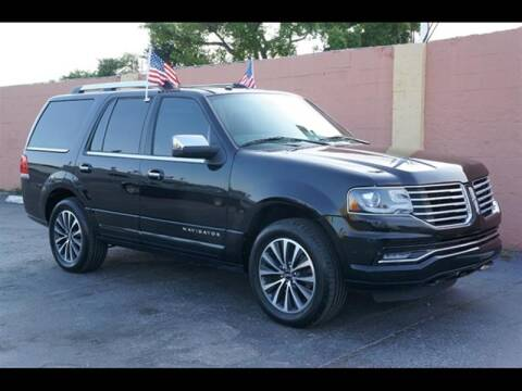 2016 Lincoln Navigator for sale at 1000 Cars Plus Boats - Lot 7 in Miami FL