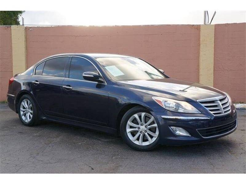 2012 Hyundai Genesis for sale at 1000 Cars Plus Boats - Lot 7 in Miami FL