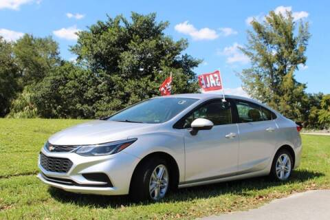 2018 Chevrolet Cruze for sale at 1000 Cars Plus Boats - Lot 6 in Miami FL