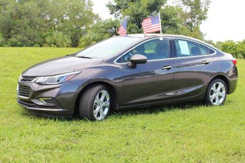 2017 Chevrolet Cruze for sale at 1000 Cars Plus Boats - Lot 6 in Miami FL
