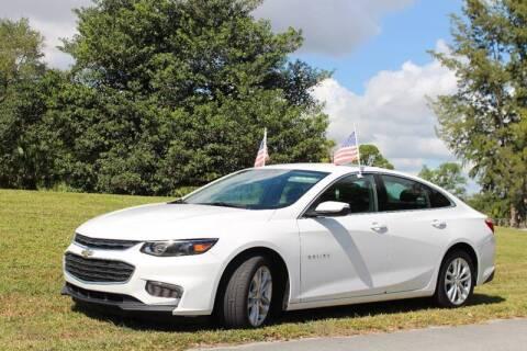 2018 Chevrolet Malibu for sale at 1000 Cars Plus Boats - Lot 6 in Miami FL