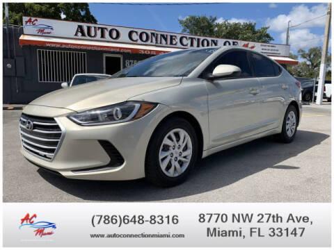 2018 Hyundai Elantra for sale at 1000 Cars Plus Boats - Lot 9 in Miami FL