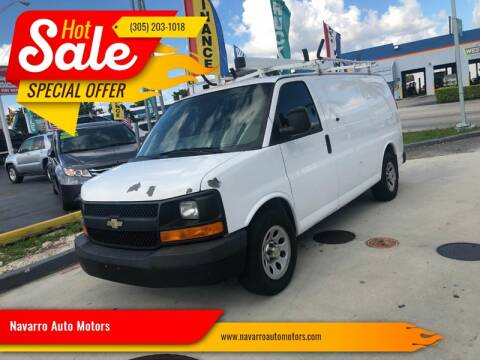 2011 Chevrolet Express Cargo for sale at 1000 Cars Plus Boats - Lot 15 in Hialeah FL