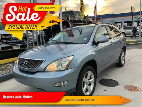 2004 Lexus RX 330 for sale at 1000 Cars Plus Boats - Lot 15 in Hialeah FL