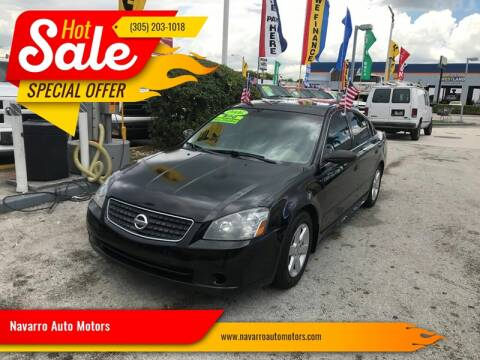 2006 Nissan Altima for sale at 1000 Cars Plus Boats - Lot 15 in Hialeah FL