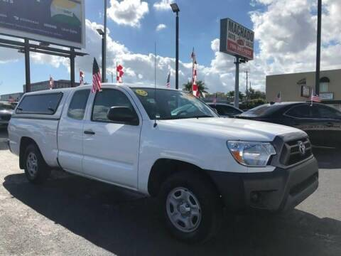 2015 Toyota Tacoma for sale at 1000 Cars Plus Boats - Lot 14 in Miami FL