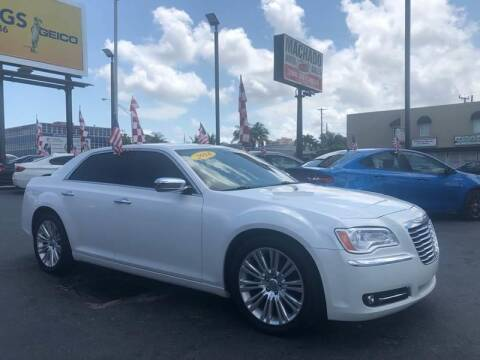 2014 Chrysler 300 for sale at 1000 Cars Plus Boats - Lot 14 in Miami FL