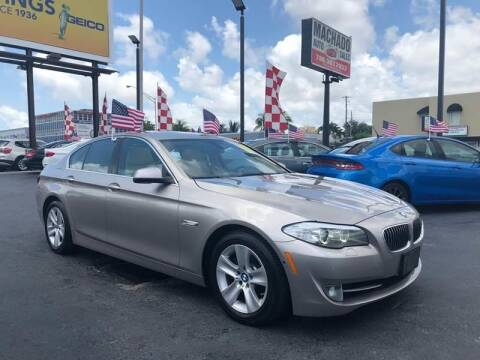 2013 BMW 5 Series for sale at 1000 Cars Plus Boats - Lot 14 in Miami FL