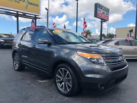 2015 Ford Explorer for sale at 1000 Cars Plus Boats - Lot 14 in Miami FL