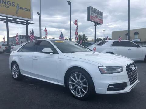 2014 Audi A4 for sale at 1000 Cars Plus Boats - Lot 14 in Miami FL