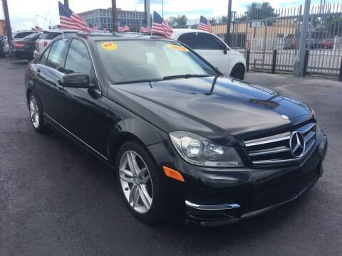 2014 Mercedes-Benz C-Class for sale at 1000 Cars Plus Boats - Lot 14 in Miami FL