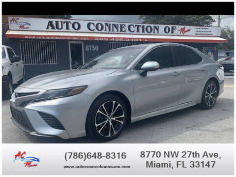 2018 Toyota Camry for sale at 1000 Cars Plus Boats - Lot 9 in Miami FL
