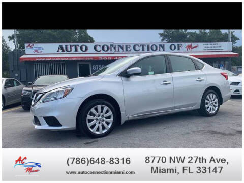 2019 Nissan Sentra for sale at 1000 Cars Plus Boats - Lot 9 in Miami FL