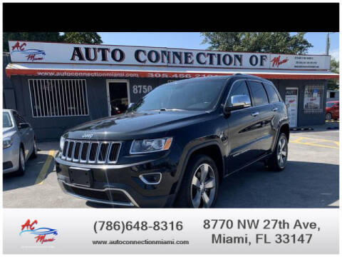 2014 Jeep Grand Cherokee for sale at 1000 Cars Plus Boats - Lot 9 in Miami FL