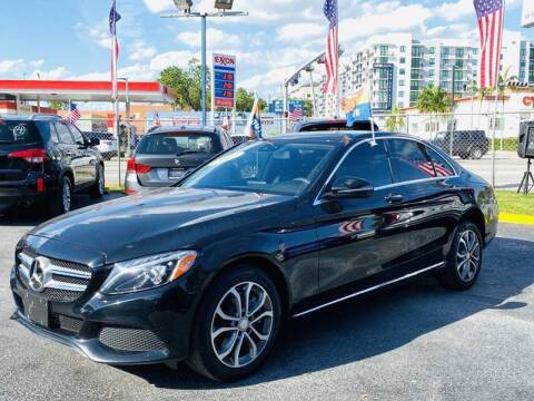 2017 Mercedes-Benz C-Class for sale at 1000 Cars Plus Boats - Lot 6 in Miami FL
