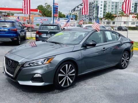 2019 Nissan Altima for sale at 1000 Cars Plus Boats - Lot 6 in Miami FL