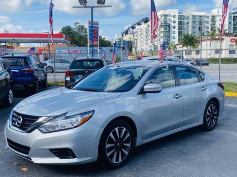 2018 Nissan Altima for sale at 1000 Cars Plus Boats - Lot 6 in Miami FL