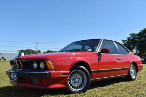 1989 BMW 6 Series for sale at 1000 Cars Plus Boats - LOT 3 in Miami FL