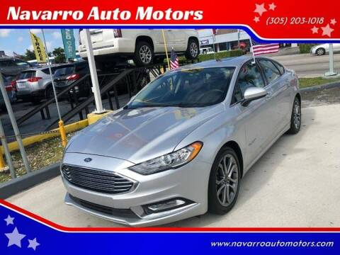 2017 Ford Fusion Hybrid for sale at 1000 Cars Plus Boats - Lot 15 in Hialeah FL