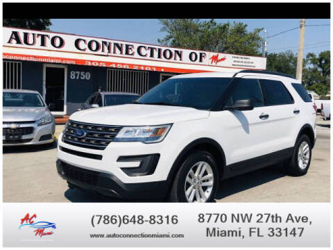 2017 Ford Explorer for sale at 1000 Cars Plus Boats - Lot 9 in Miami FL