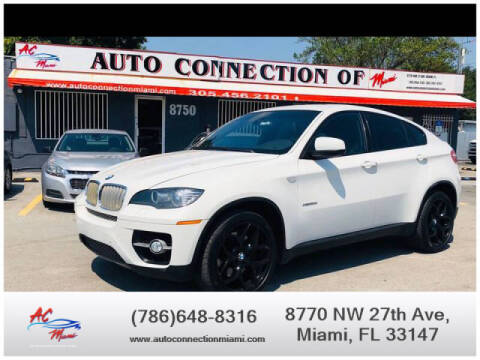 2011 BMW X6 for sale at 1000 Cars Plus Boats - Lot 9 in Miami FL
