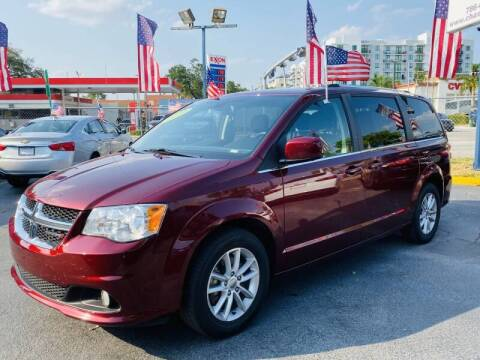 2019 Dodge Grand Caravan for sale at 1000 Cars Plus Boats - Lot 6 in Miami FL