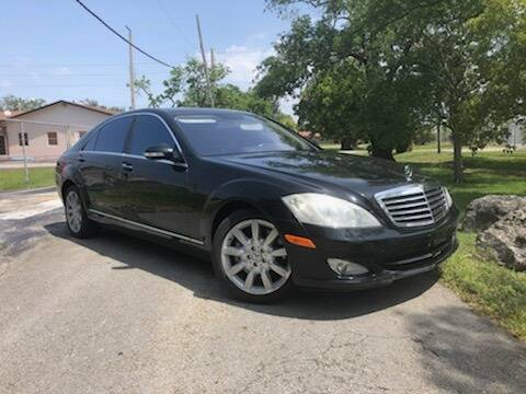 2009 Mercedes-Benz S-Class S 550 4MATIC for sale at 1000 Cars Plus Boats - Lot 13 in Miami FL