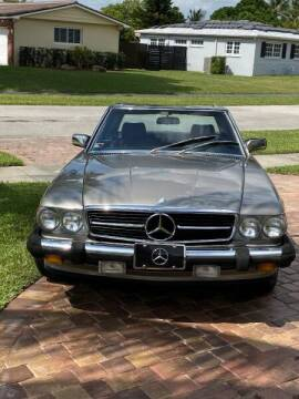 1986 Mercedes-Benz SL-Class for sale at 1000 Cars Plus Boats - Lot 14 in Miami FL