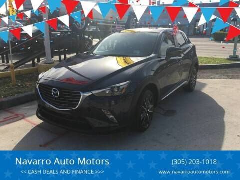 2017 Mazda CX-3 for sale at 1000 Cars Plus Boats - Lot 15 in Hialeah FL