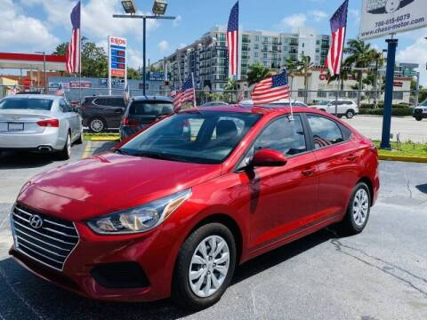 2019 Hyundai Accent for sale at 1000 Cars Plus Boats - Lot 6 in Miami FL