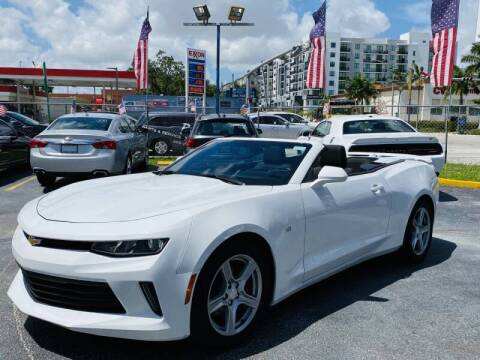 2018 Chevrolet Camaro for sale at 1000 Cars Plus Boats - Lot 6 in Miami FL