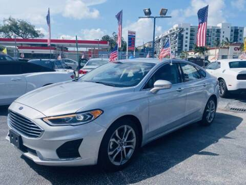 2019 Ford Fusion for sale at 1000 Cars Plus Boats - Lot 6 in Miami FL