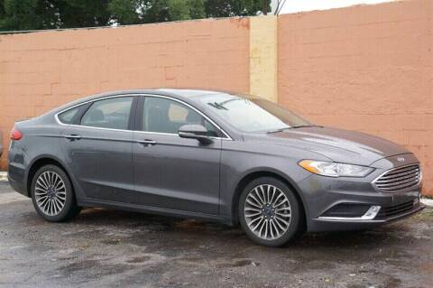 2018 Ford Fusion for sale at 1000 Cars Plus Boats - Lot 7 in Miami FL