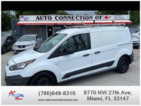 2016 Ford Transit Connect Cargo for sale at 1000 Cars Plus Boats - Lot 9 in Miami FL